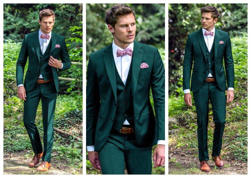 L'art du costume de marié vert selon Jean de Sey