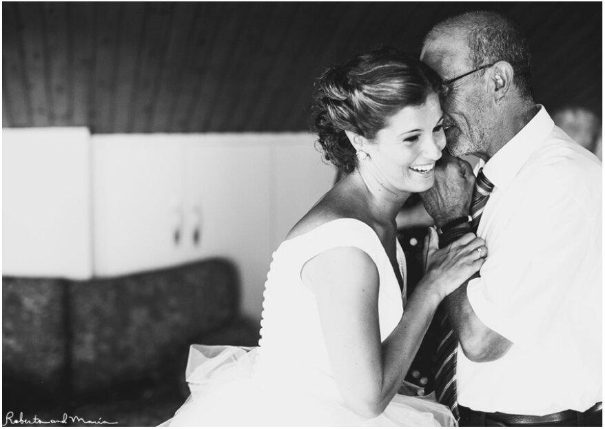 Discours du père de la mariée : 4 jolis exemples pour vous inspirer