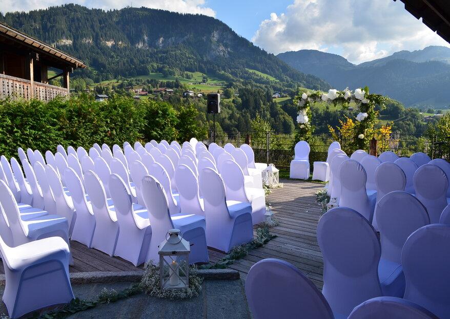 Hôtel Alpaga : un décor de rêve face au Mont Blanc pour un mariage à la montagne