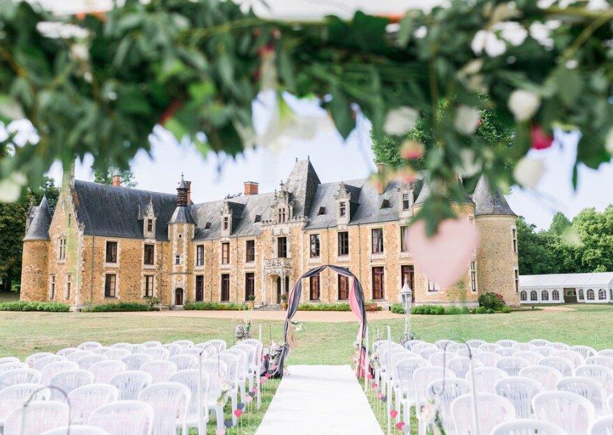 Trouvez un lieu hors du commun pour votre réception en fonction du style de mariage
