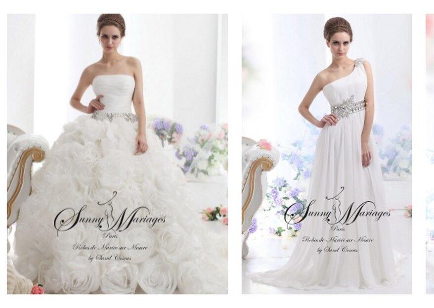 Tentée par une robe de mariée sur mesure, pas chère et à votre image ?