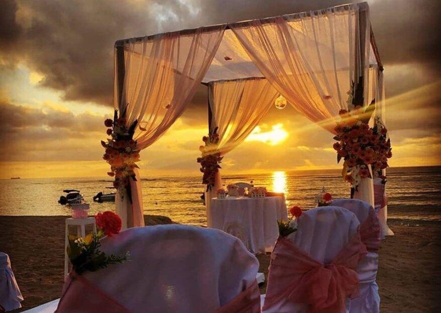 Get In Touch Wedding & Event Planner vous propose de vous dire Oui... A l'Île Maurice !