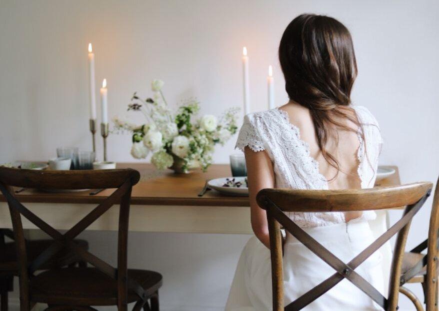 Trouver la robe de mariée de ses rêves en peu de temps, c'est possible grâce à PANDORE