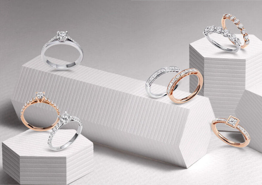 Bijoux, alliances et bagues de fiançailles : nos adresses coup de coeur pour les futurs mariés !
