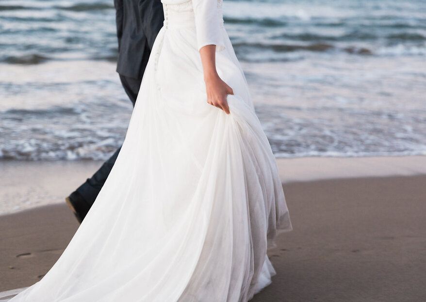 Comment choisir ma robe de mariée pour un mariage à la plage en 5 étapes