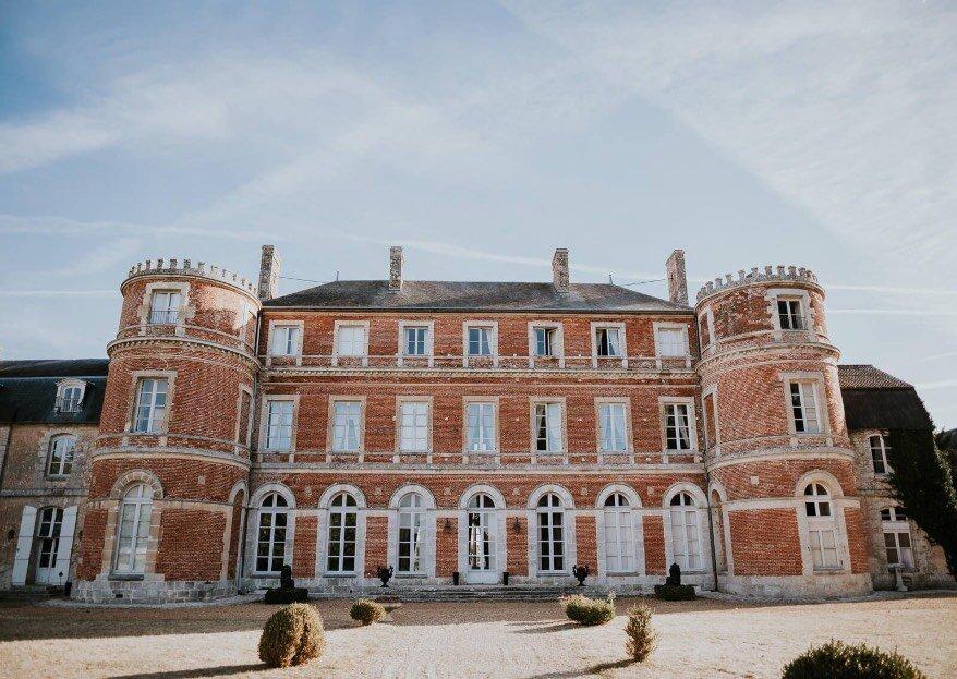 Organisez un mariage digne d'un conte de fées au Château de Denonville