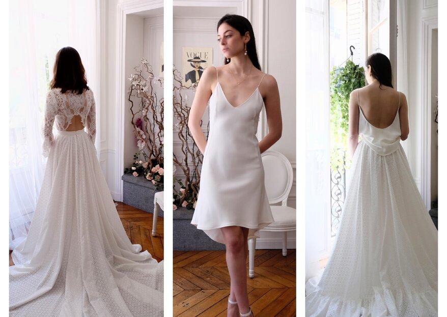 Le concept tendance signé LK PARIS Couture : un dressing de mariage et bien plus !