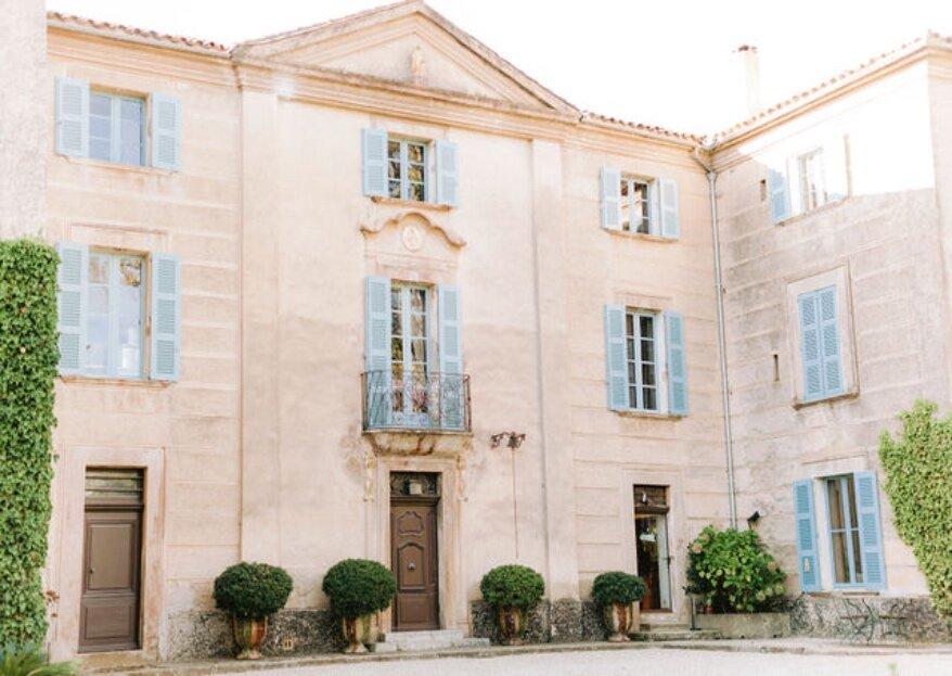 Mariage d'exception au Château de Pampelonne : un gage de qualité la Collection Roland Paix