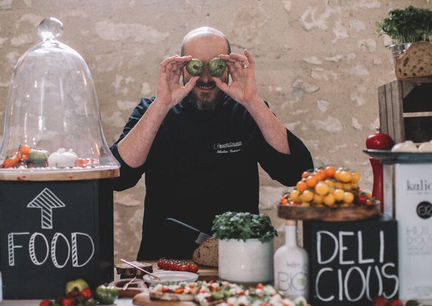 Grand Chemin Traiteur : surprenez vos invités le jour J en invitant un «chaud-man » et son show cooking