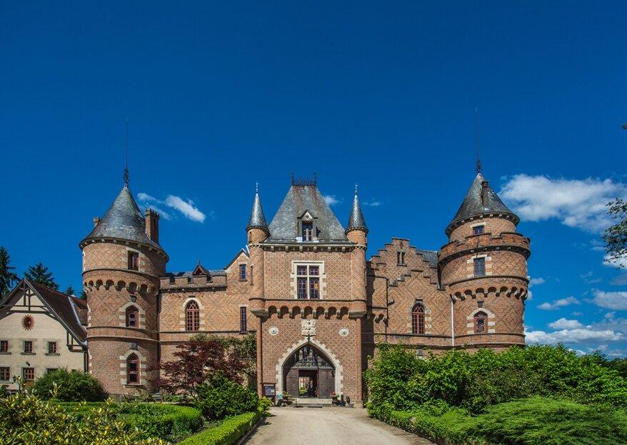 Organisez un mariage féerique au Chateau de Maulmont
