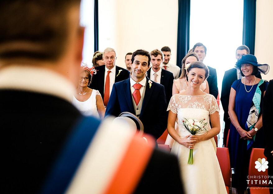 Mariage civil : les documents nécessaires pour constituer le dossier de mariage