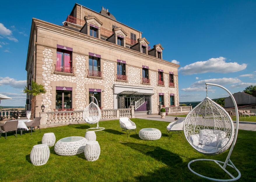 Les plus beaux domaines d'Ile-de-France pour un mariage champêtre