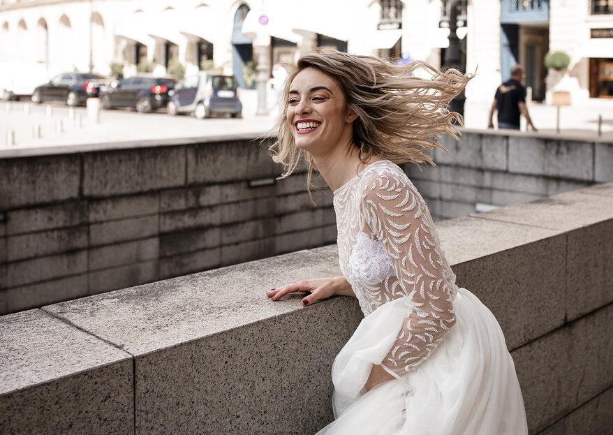 A vous la robe de mariée qui saura épouser votre silhouette et vos rêves grâce à Pandore