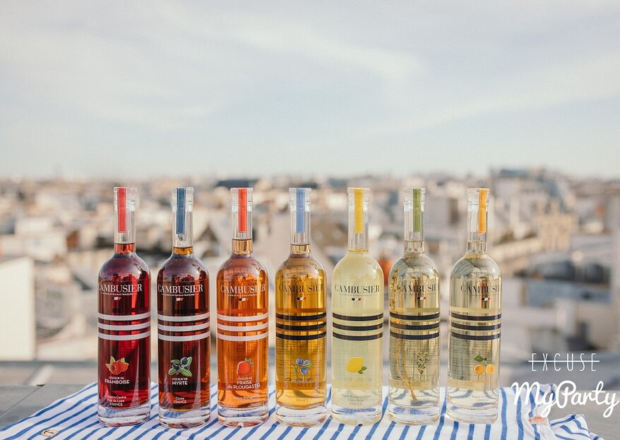 Avec Cambusier, offrez à vos invités un vin d'honneur haut en couleurs !