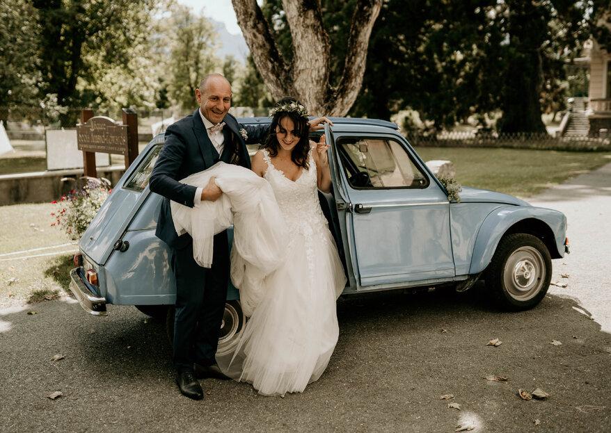 Inspirez-vous du mariage authentique et festif de Pauline et Loïc
