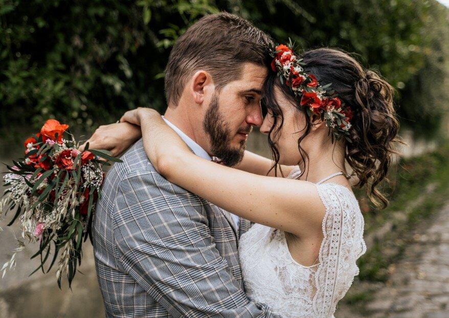 De l'intimité, de la simplicité et beaucoup d'amour : voici le mariage d'Aurore et Samuel