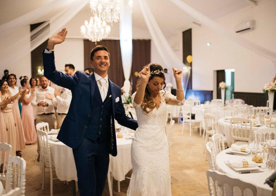 Johanna et Jean-Philippe : un mariage festif au coeur d'un château du Sud de la France