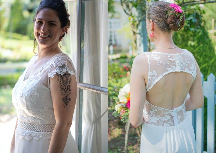 Un Soupçon d'Émilie : Osez l'aventure de la robe de mariée sur mesure !