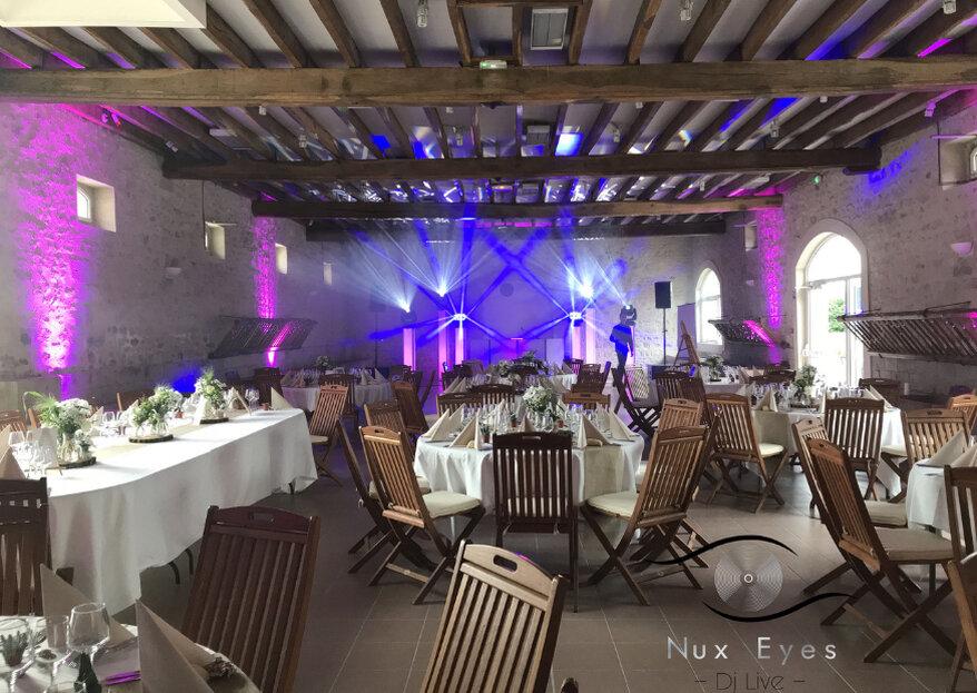 Soirée de mariage festive et chaleureuse : une prestation sur-mesure signée Nux Eyes