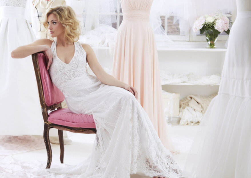 Glamour, moderne et raffinée : telle sera votre robe Atelier Emelia !