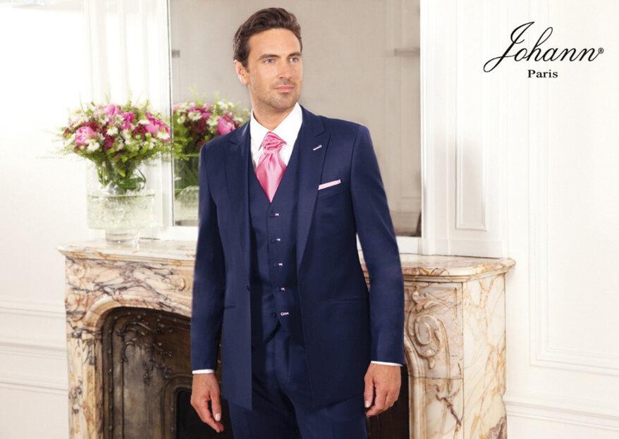 Personnalisé et élégant : votre costume de marié le sera grâce à Johann