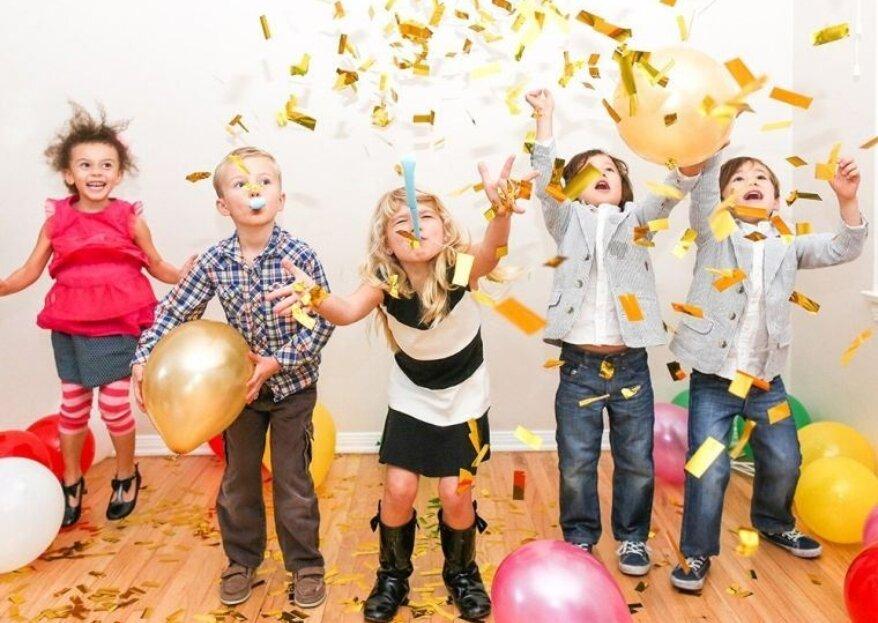 Une véritable fête dans la fête : Live and Smile sera l'allié de vos enfants le jour J !