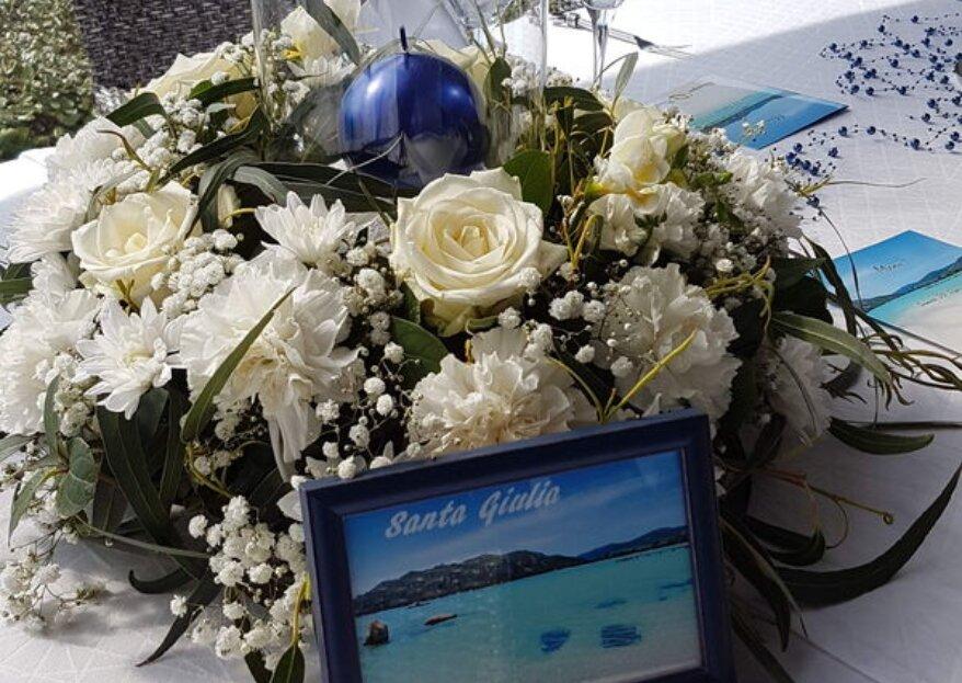Wedding Flower and Co : un atelier dédié à la décoration florale de mariage en Corse !