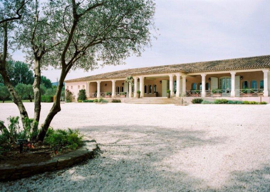 Château de l'Aumérade : Organisez une réception bucolique sous le soleil de la Provence au Pavillon Sully
