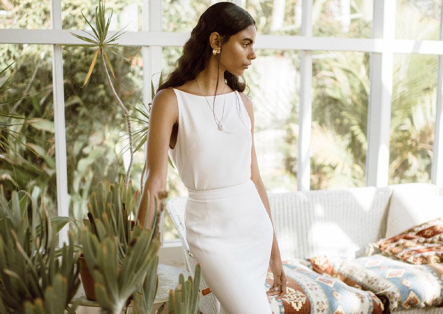 Lola Varma : des robes de mariée au style minimaliste à retrouver au Printemps