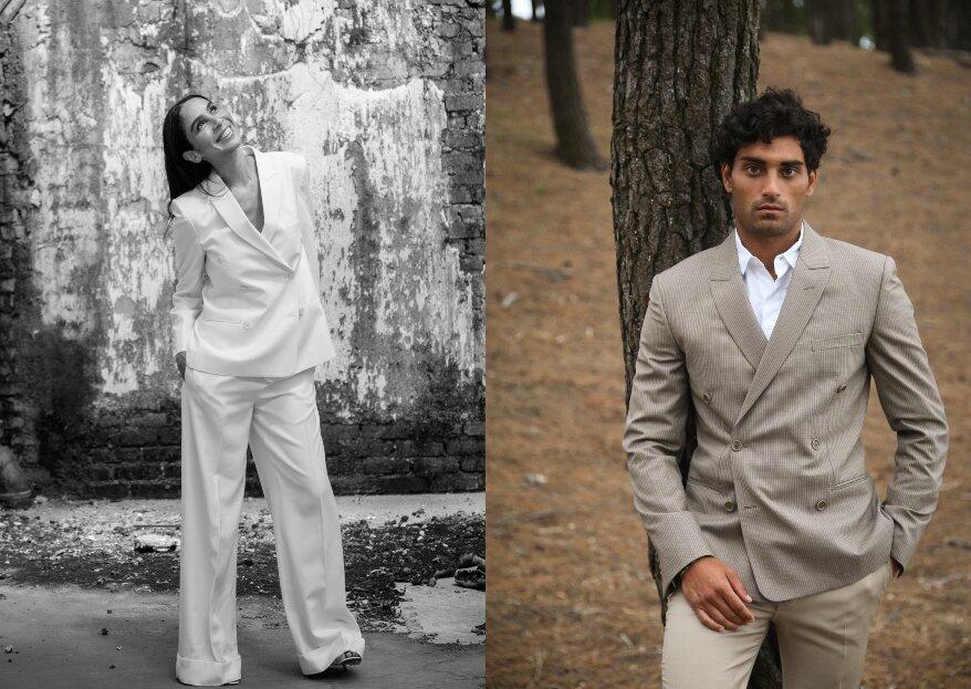 L.I.L.A.R présente ses nouvelles collections de costumes pour hommes et pour femmes