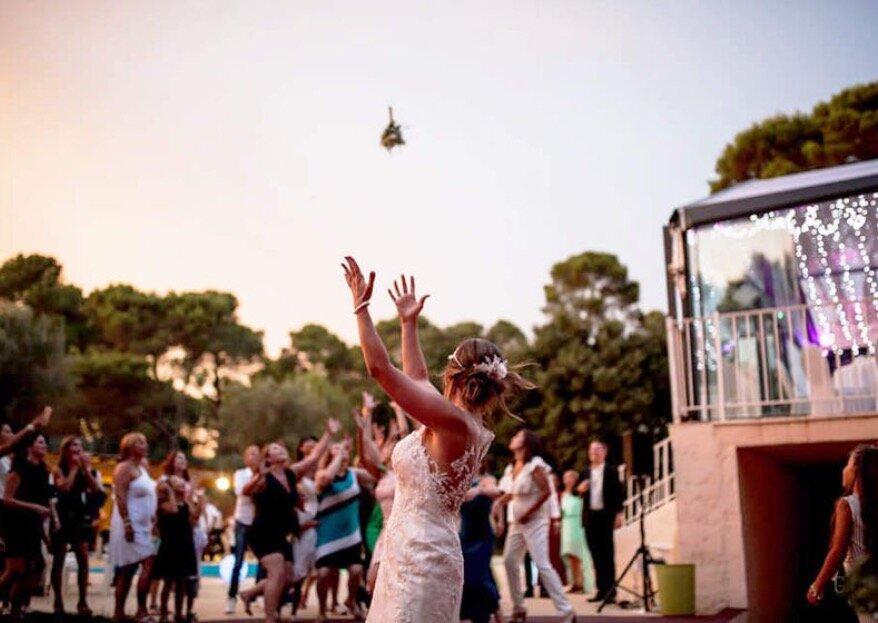 Domaine du Castellet : un mariage d'exception sous le soleil de la Provence