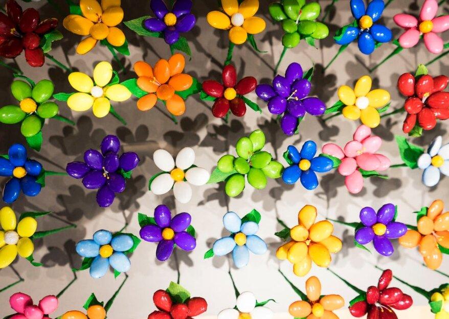 Fleurs-Thés en chocolat : accueillez et remerciez vos invités avec des bouquets de fleurs ... en chocolat !