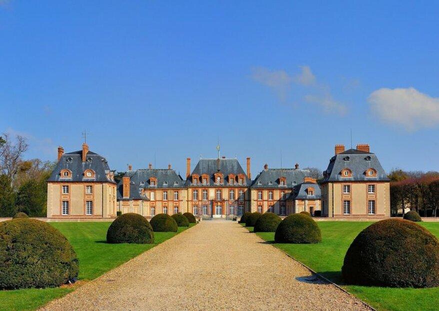 Le Château de Breteuil et son Orangerie, un conte de fée à deux pas de Paris