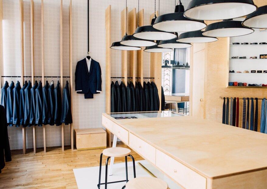 Atelier Coqlico, la boutique référence du costume sur mesure