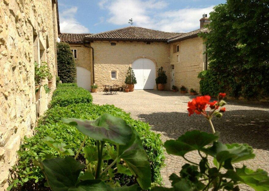 Domaine Albert : vivez un mariage unique au cœur des vignes du Beaujolais