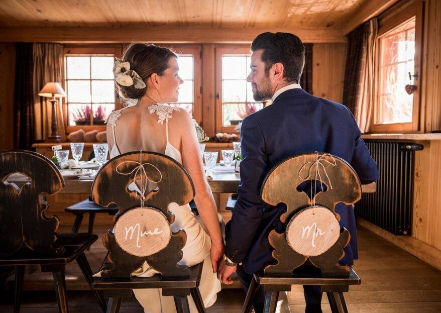 Comment décorer un mariage rustique en 5 étapes