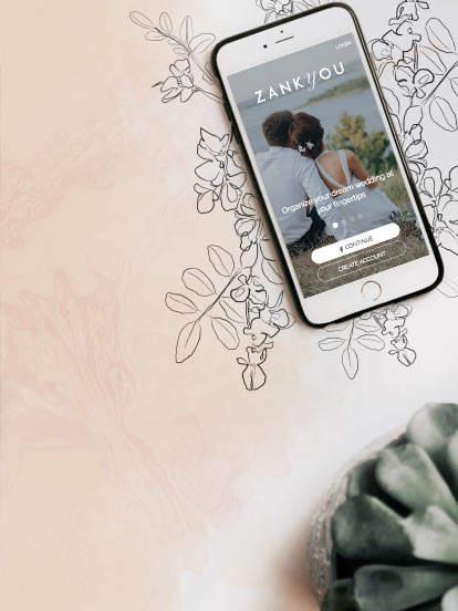 App iPhone et Android pour votre mariage